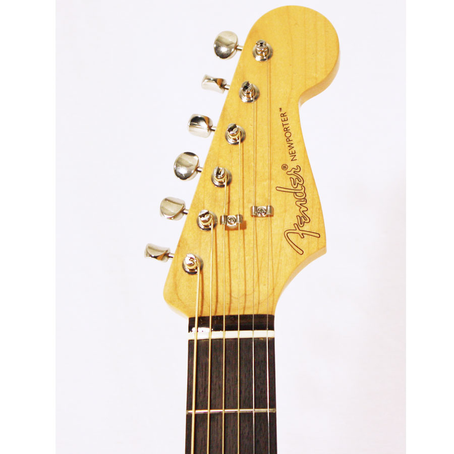 Fender Pro Custom Shop Newporter Headstock Detail