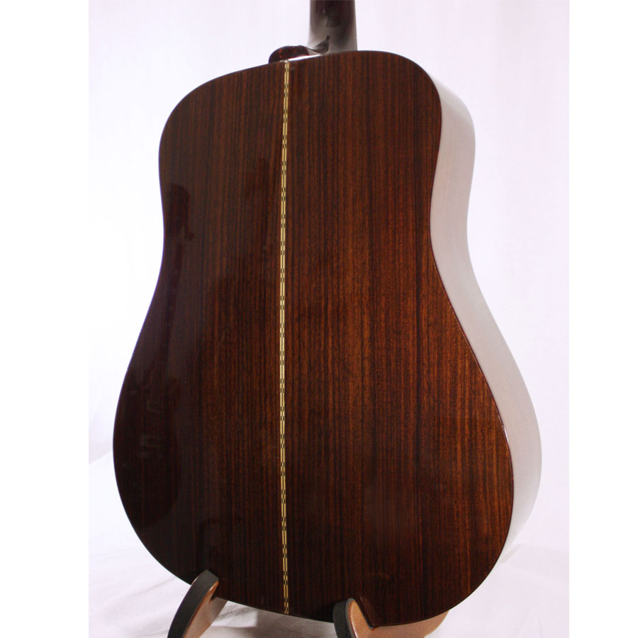 Guild D-50 Bluegrass Special Antique Burst DEMO Rear Body