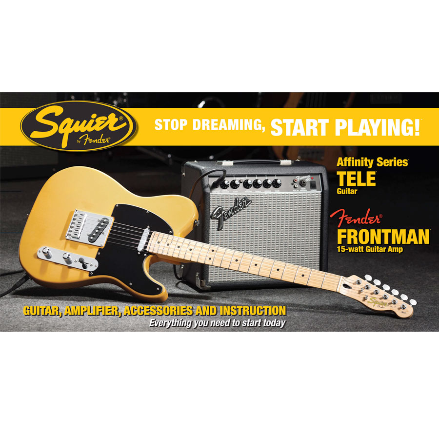Stop Dreaming Affinity Tele Butterscotch Blonde Pack