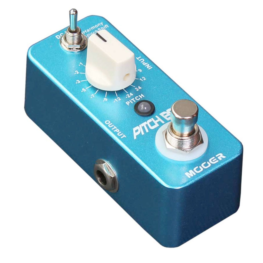 Mooer Pitch Box Angled View