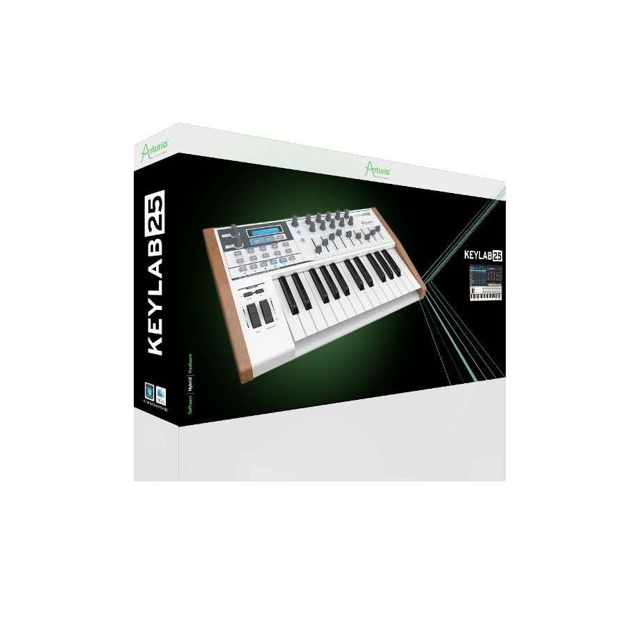 Arturia KeyLab 25 Box View
