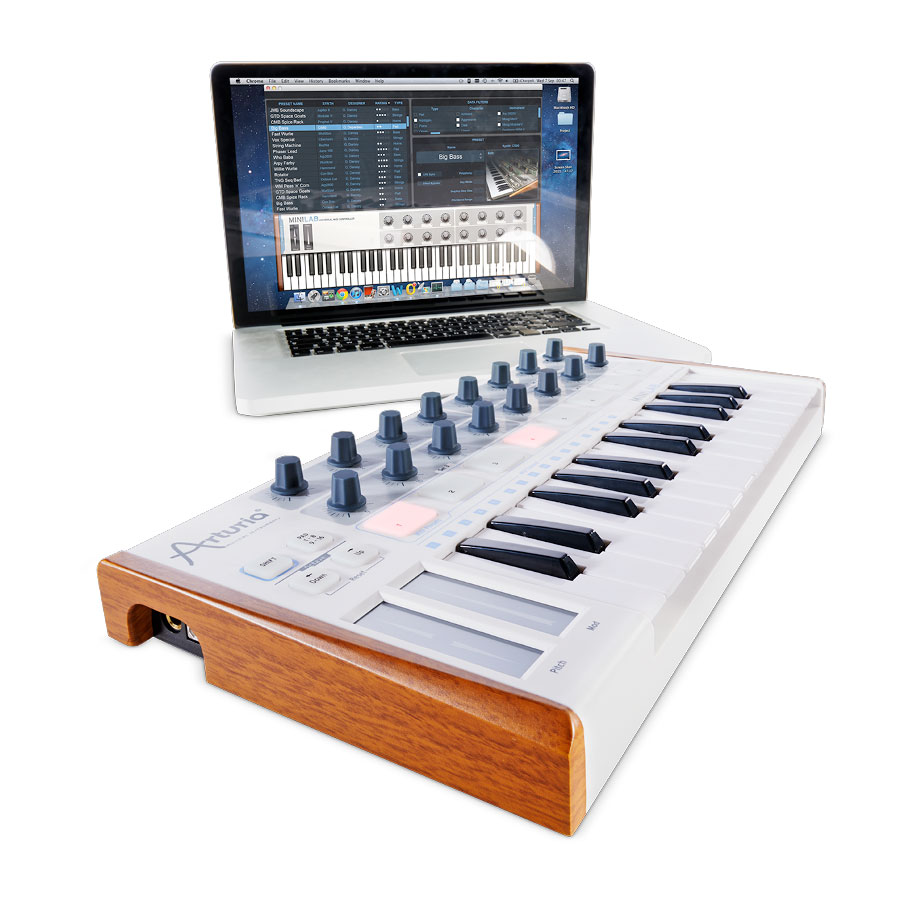 Arturia KeyLab 61 Synth with Software