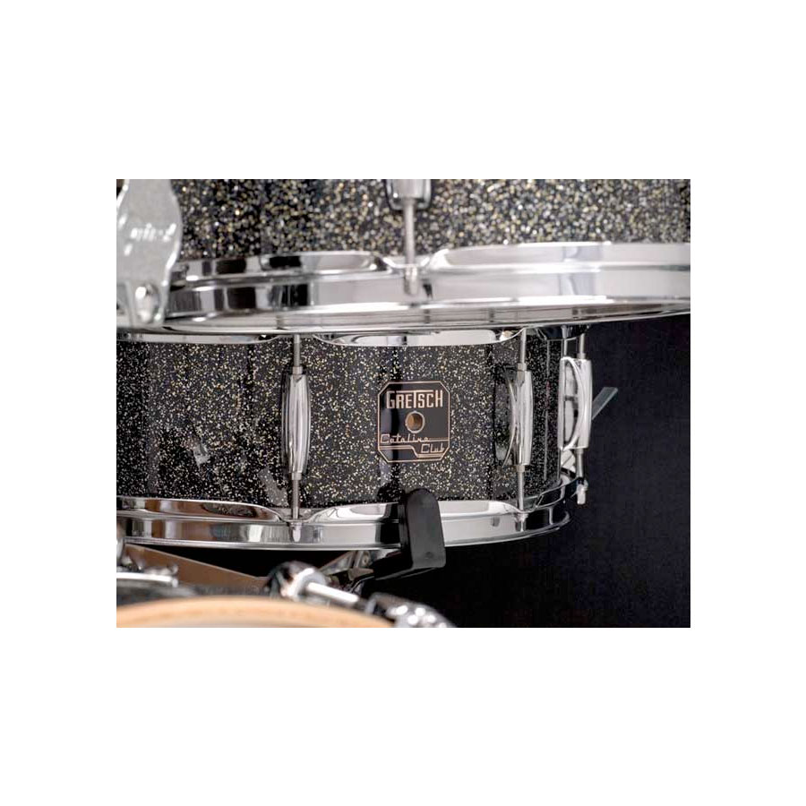 Gretsch Drums Catalina Club Jazz - Galaxy Black Sparkle Detail