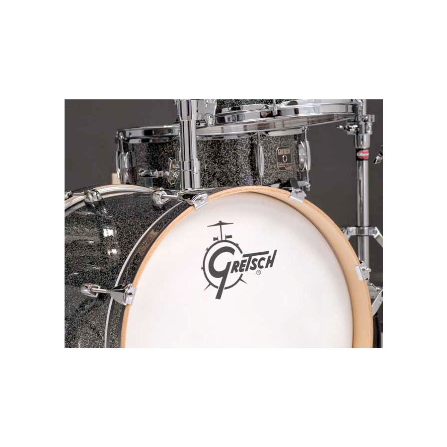 Gretsch Drums Catalina Club Jazz - Galaxy Black Sparkle Detail 2