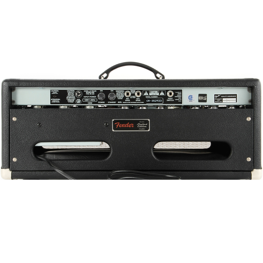 Fender 65 Deluxe Reverb Head  Rear View