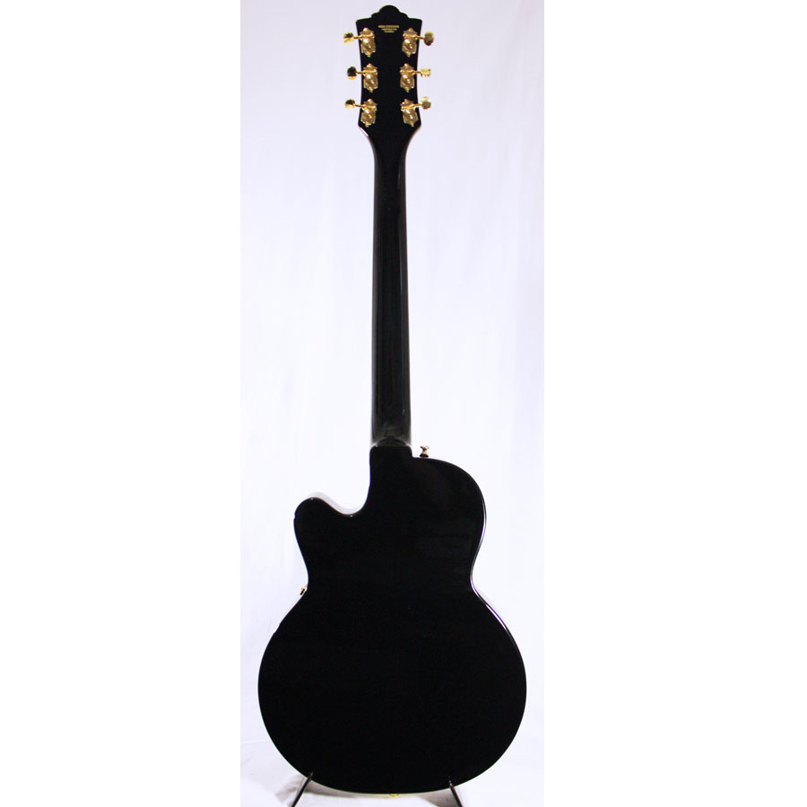 Guild M-75 Aristocrat Limited Edition Black Rear View