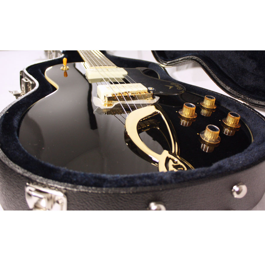 Guild M-75 Aristocrat Limited Edition Black Body Detail