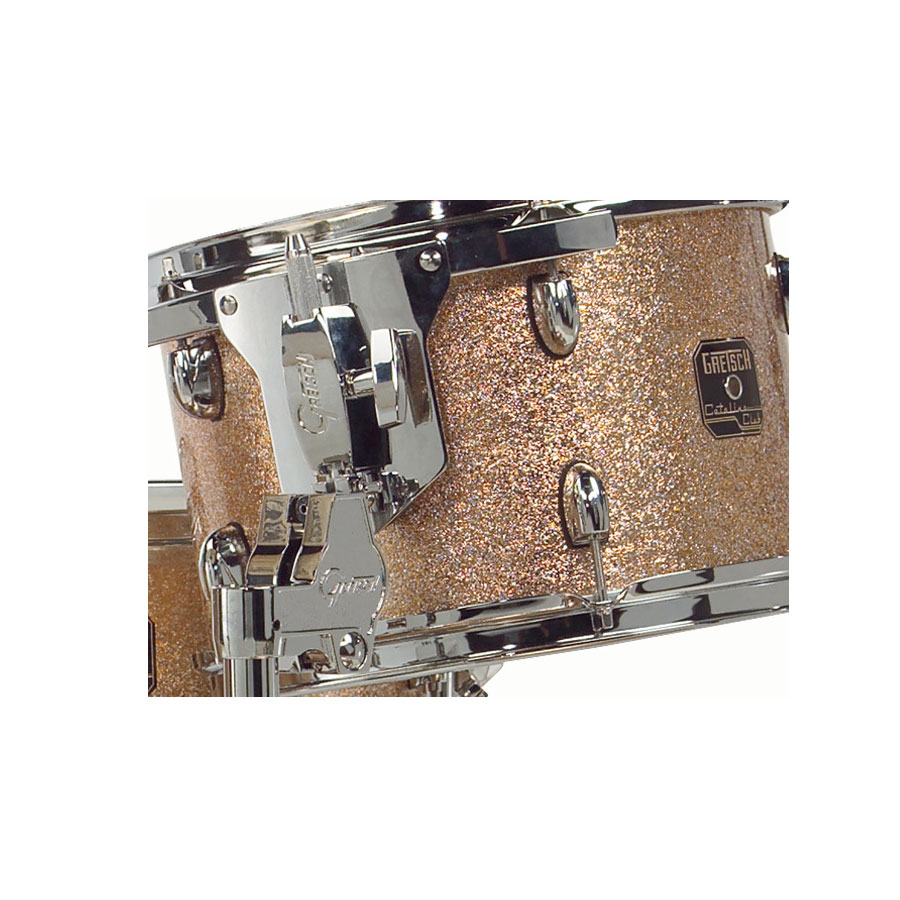 Gretsch Drums Catalina Club Jazz - Copper Sparkle Detail