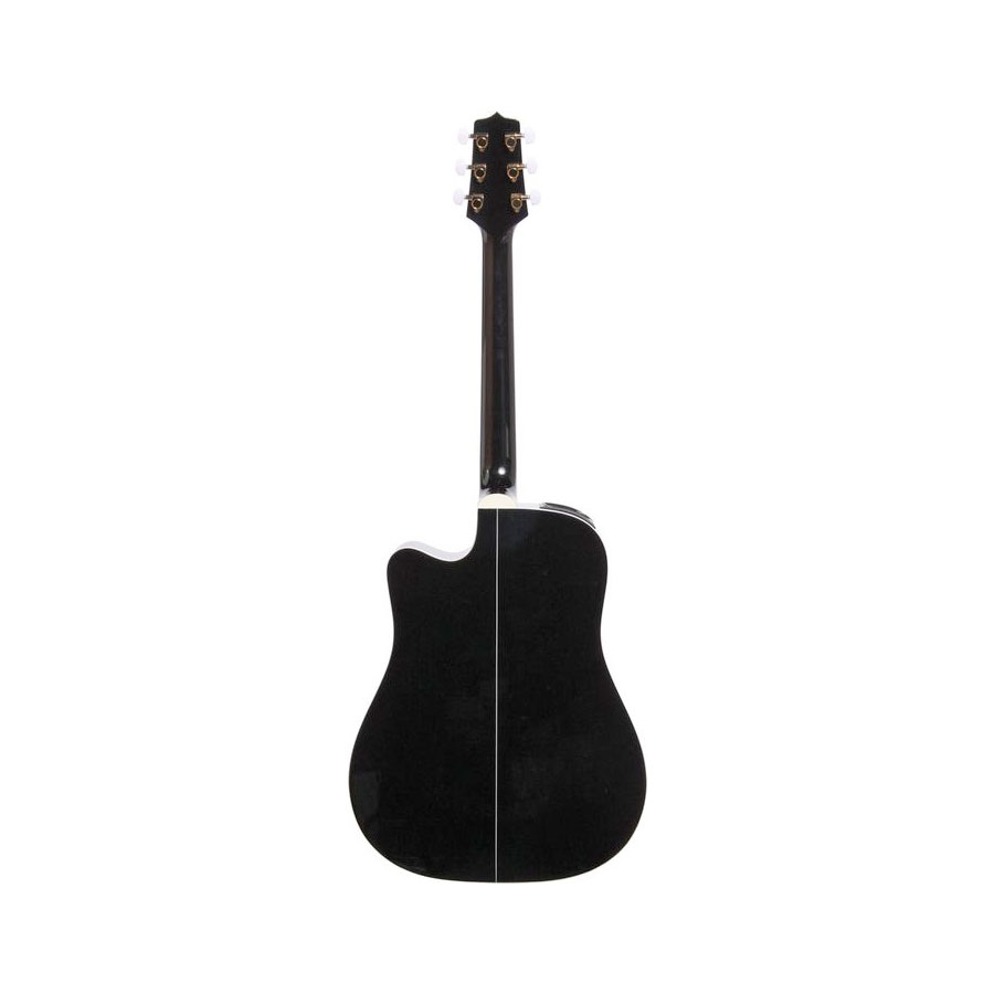 Takamine EG341C Black Rear View