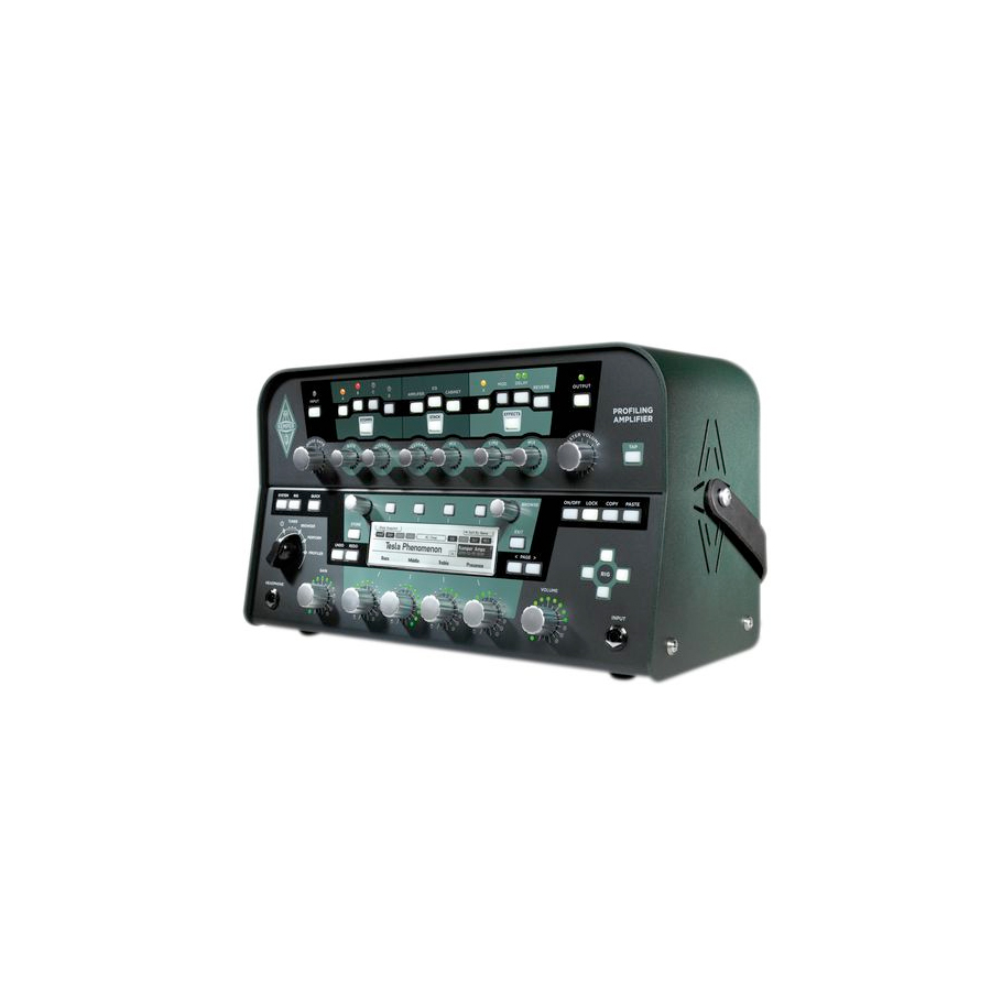 Kemper Profiler Amplifier Head Black Angled View