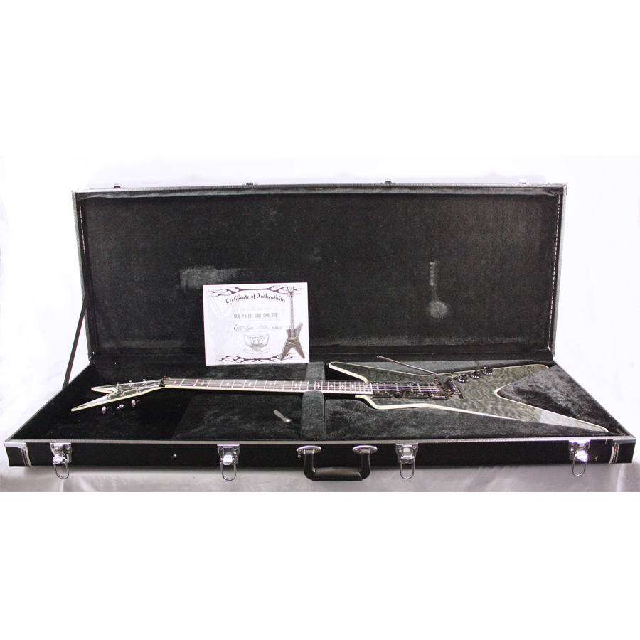 Dean Custom Run 8 ML Switchblade Transparent Black No. 12 of 100 In Case