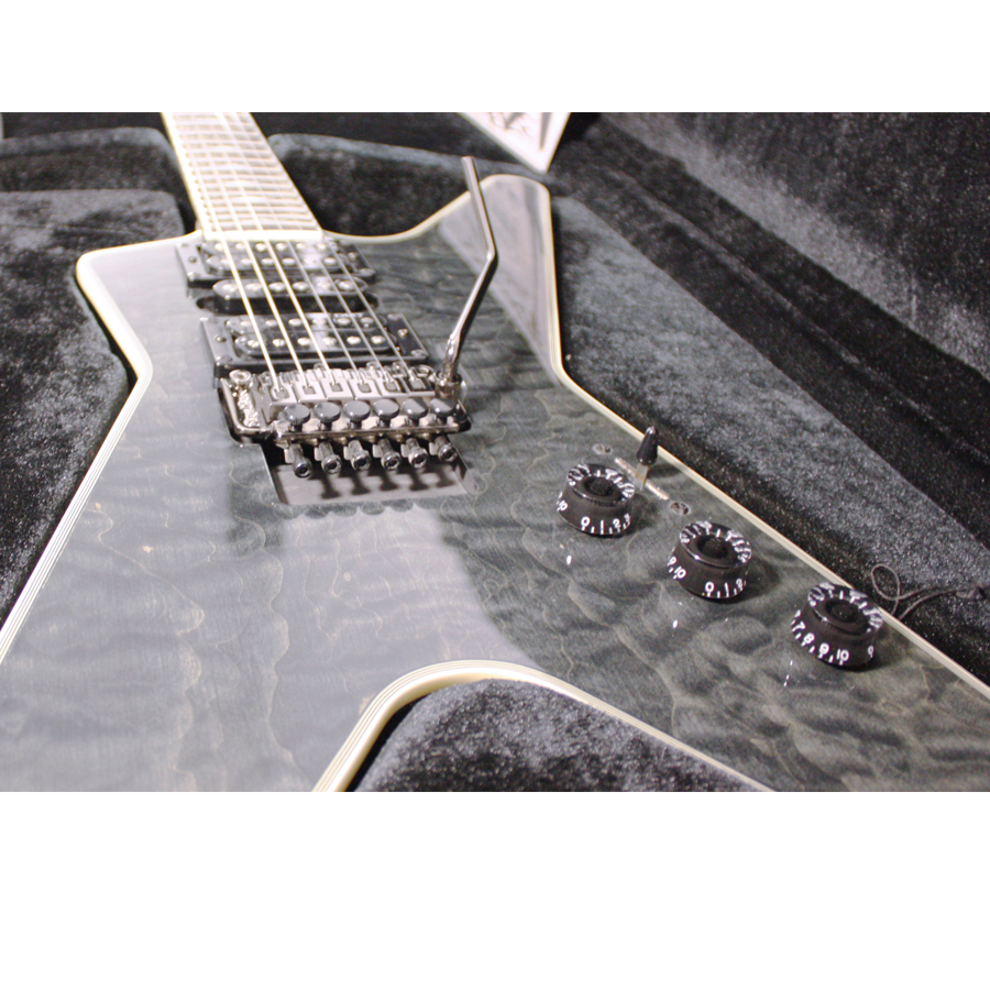 Dean Custom Run 8 ML Switchblade Transparent Black No. 12 of 100 Body View