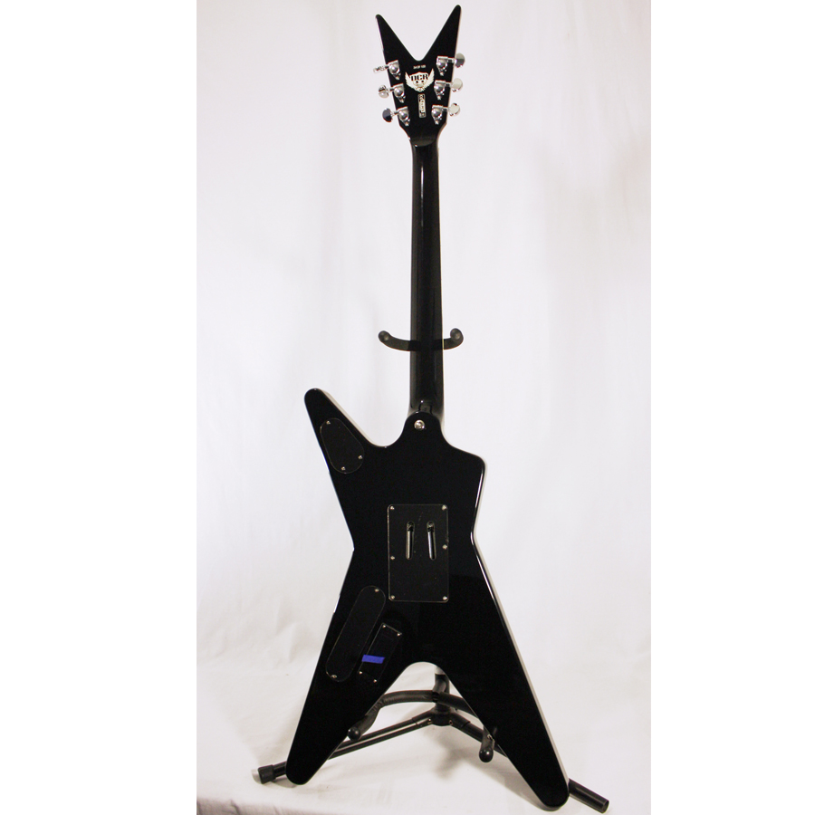 Dean Custom Run 3 ML Chrome Black No 34 of 100 Rear View