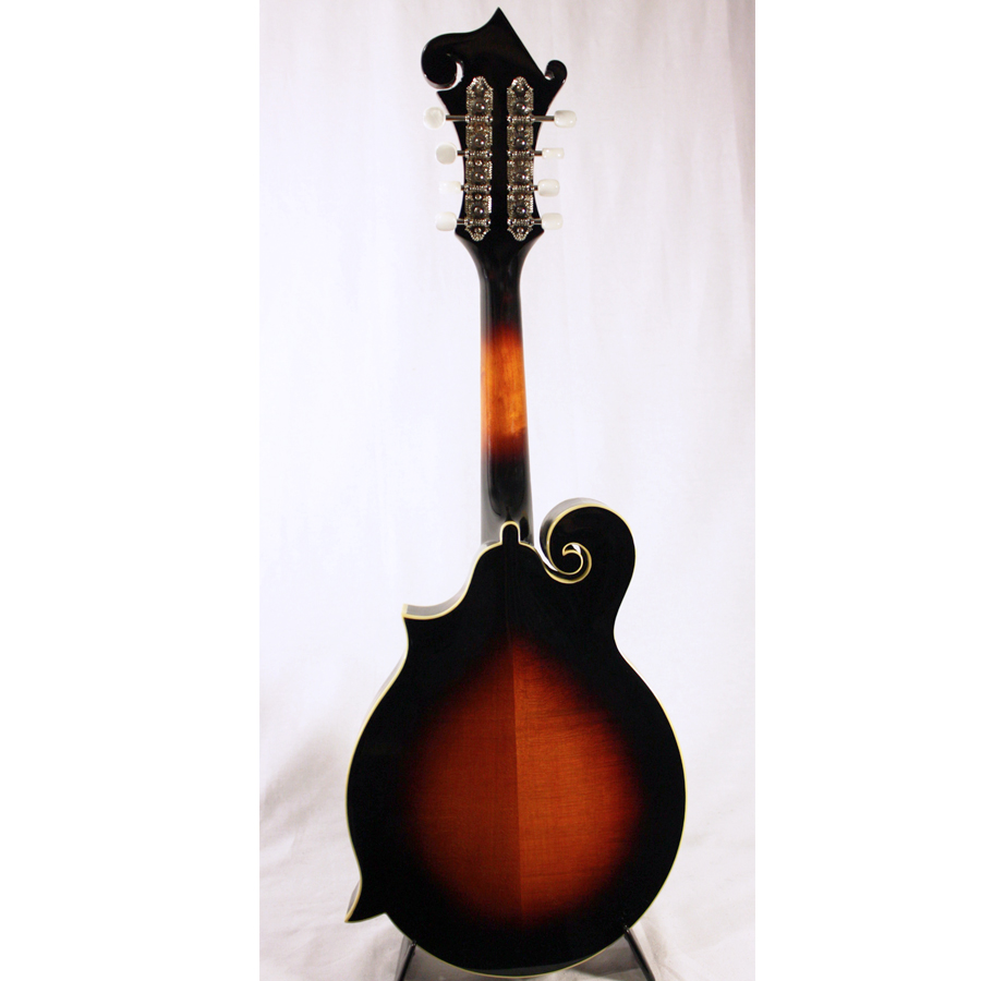 Loar LM-520 Vintage Sunburst Blemished Rear View