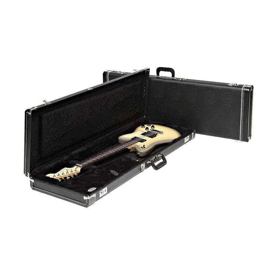 Strat / Tele Multi-Fit Hardshell Case - Standard Black w/ Black Interior