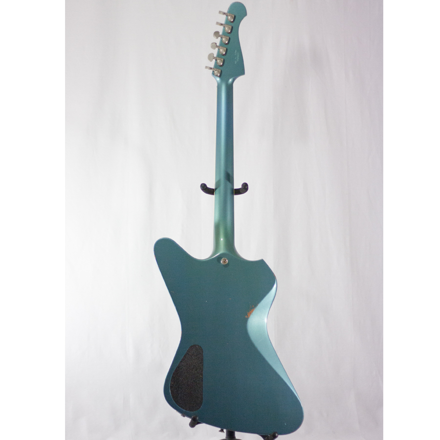 Washburn Paul Stanley Starfire Time Traveler - Pelham Blue Rear View