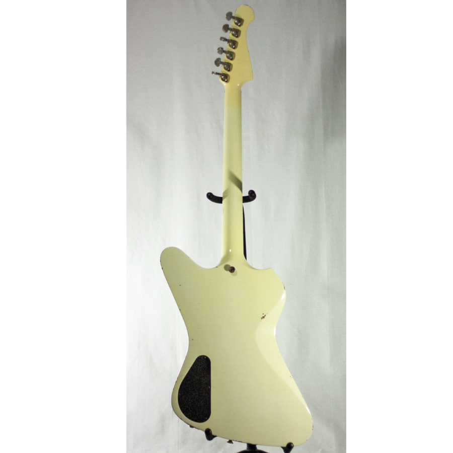 Washburn Paul Stanley Starfire Time Traveler - Polaris White Rear View