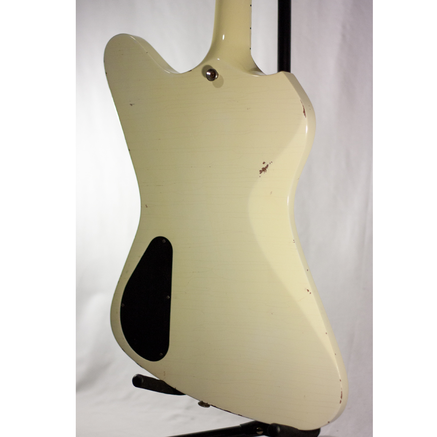 Washburn Paul Stanley Starfire Time Traveler - Polaris White Rear Body Detail