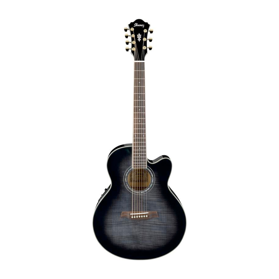 AEL207E 7-String Transparent Black Sunburst