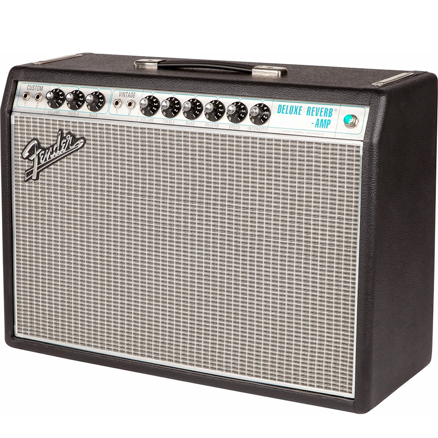 Fender 68 Custom Deluxe Reverb View 2