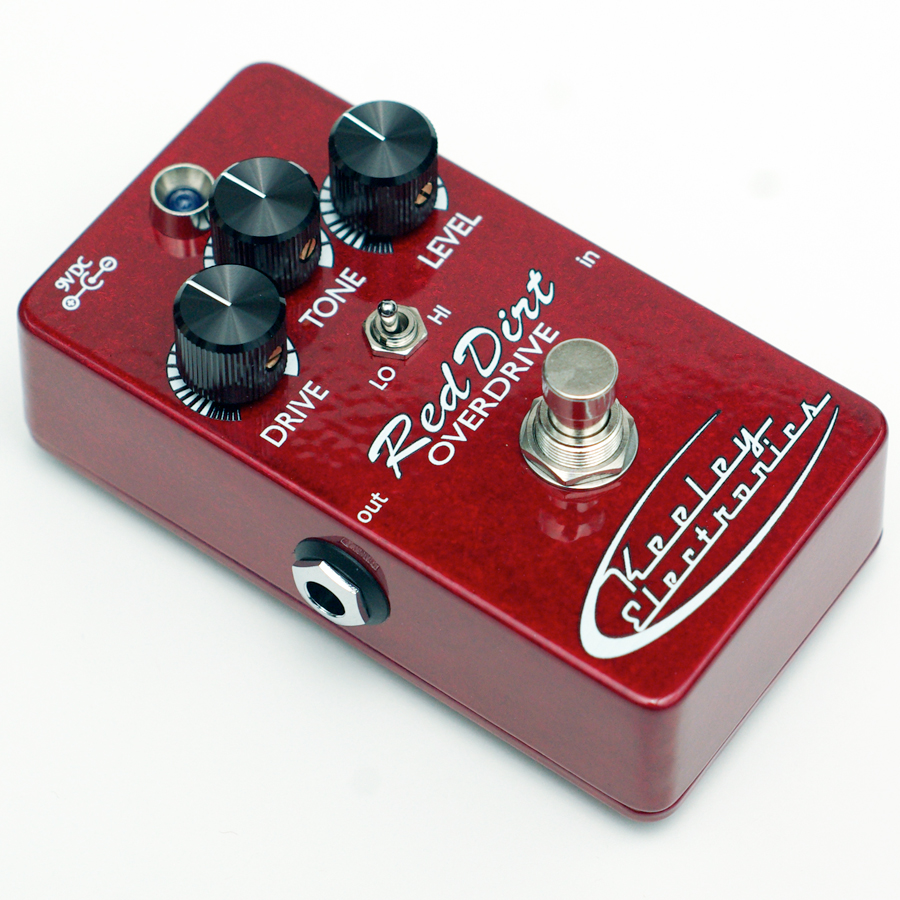 Keeley Electronics Red Dirt  Angled View