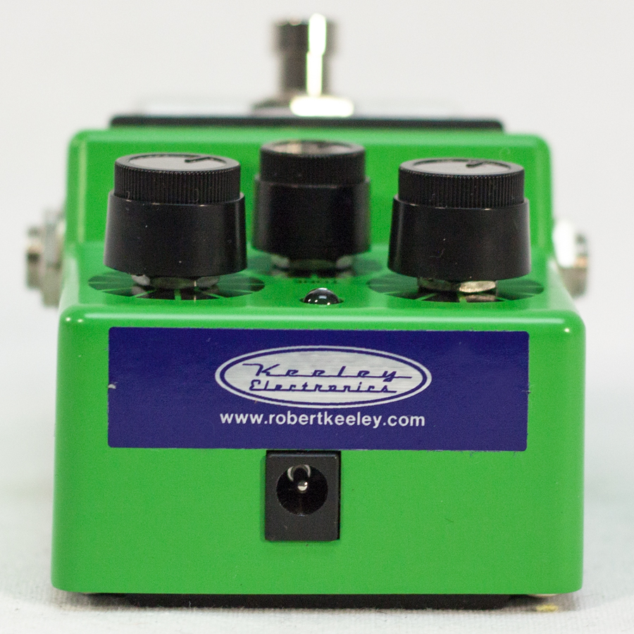 Keeley Electronics TS9 Mod Plus True Bypass Rear View
