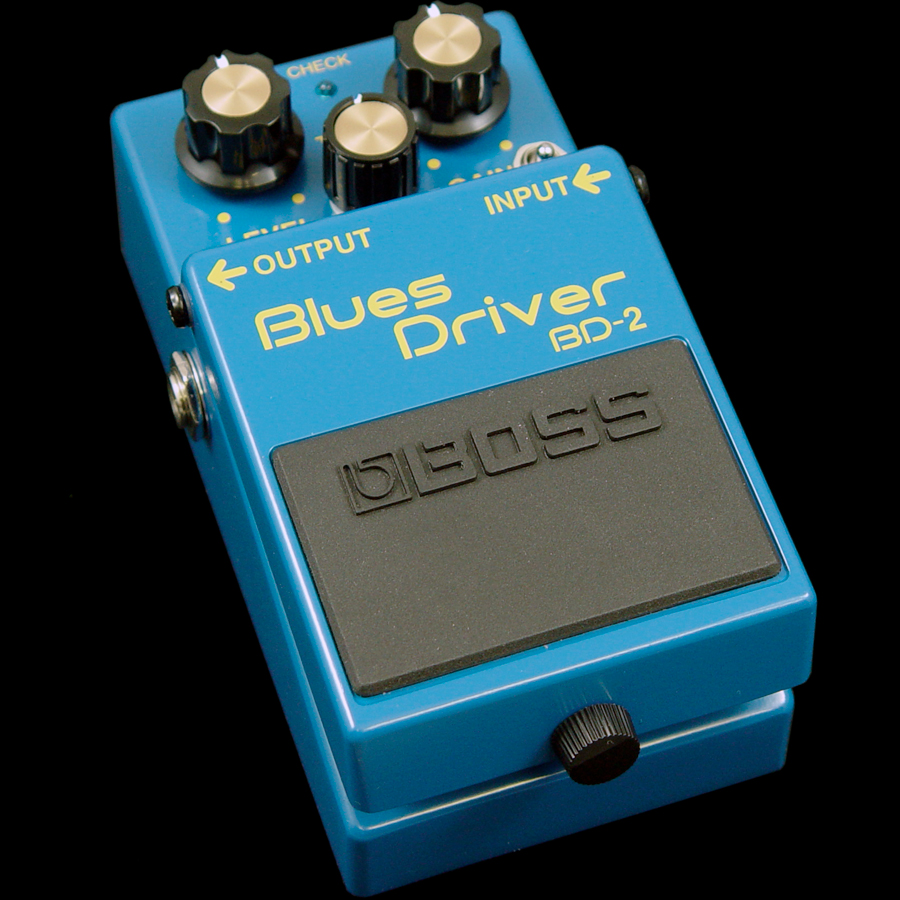 Boss  BD-2 Blues Driver Mod  Rear View