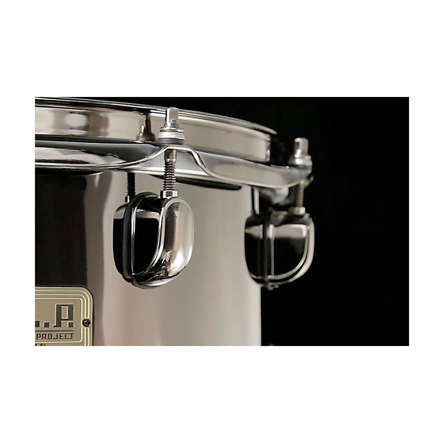 Tama S.L.P. Black Brass Snare Drum View 2