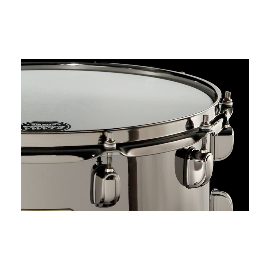 Tama S.L.P. Black Brass Snare Drum View 3