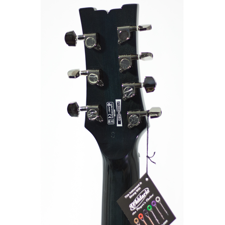 Ibanez ARZ307FM Transparent Deep Black AUCTION Rear Headstock