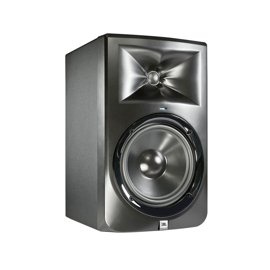 JBL LSR308 Pair Side View