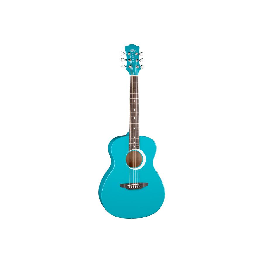 Aurora Borealis 3/4 Guitar Teal