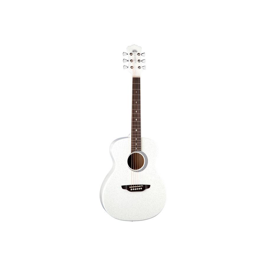 Aurora Borealis 3/4 Guitar White Pearl Sparkle