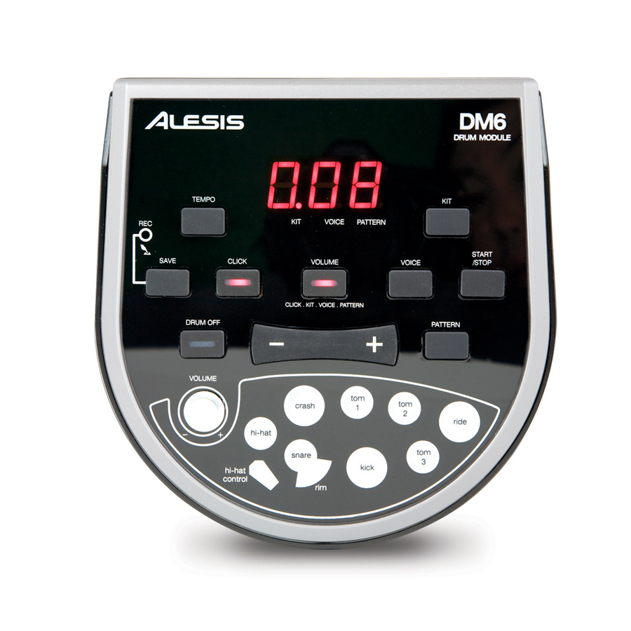 Alesis DM6 USB Kit Angled View
