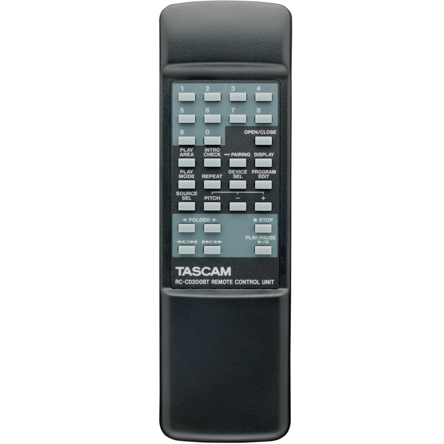 Tascam CD-200BT Remote Control