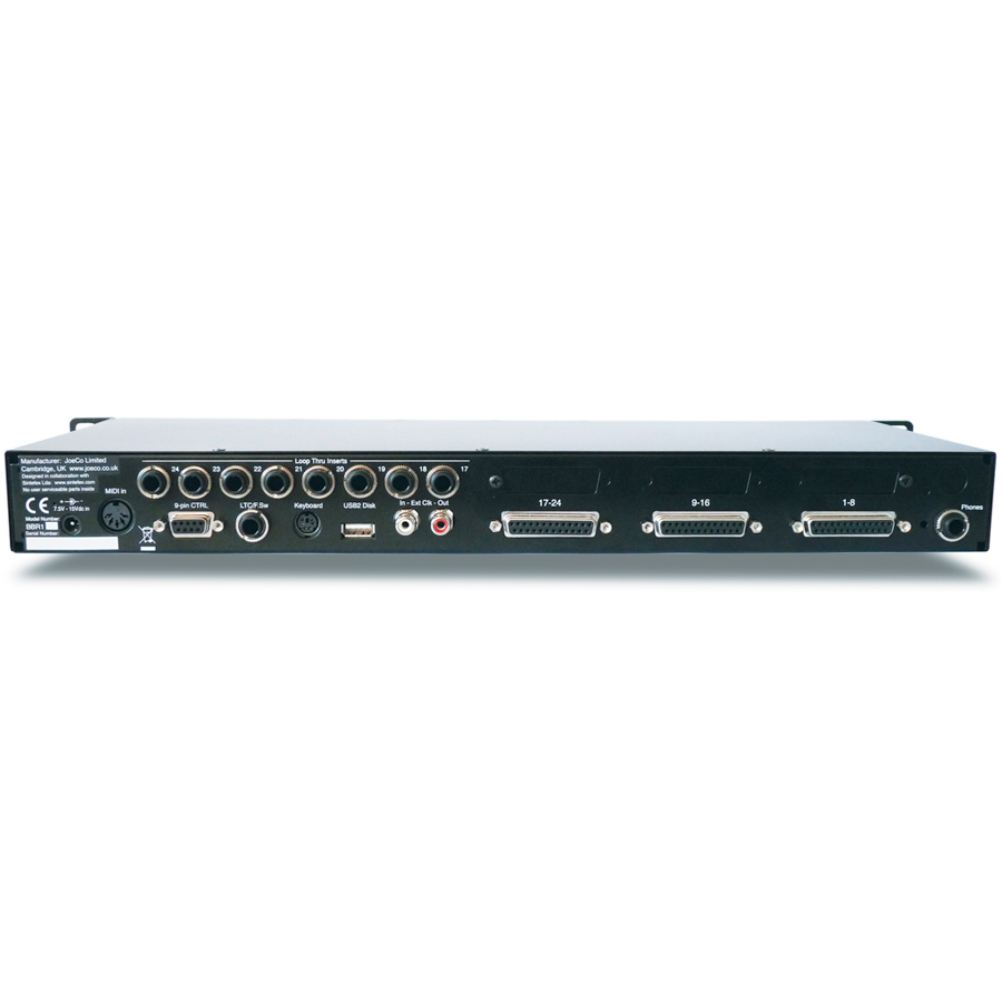 Joeco BBR1-US Blackbox Recorder Rear View