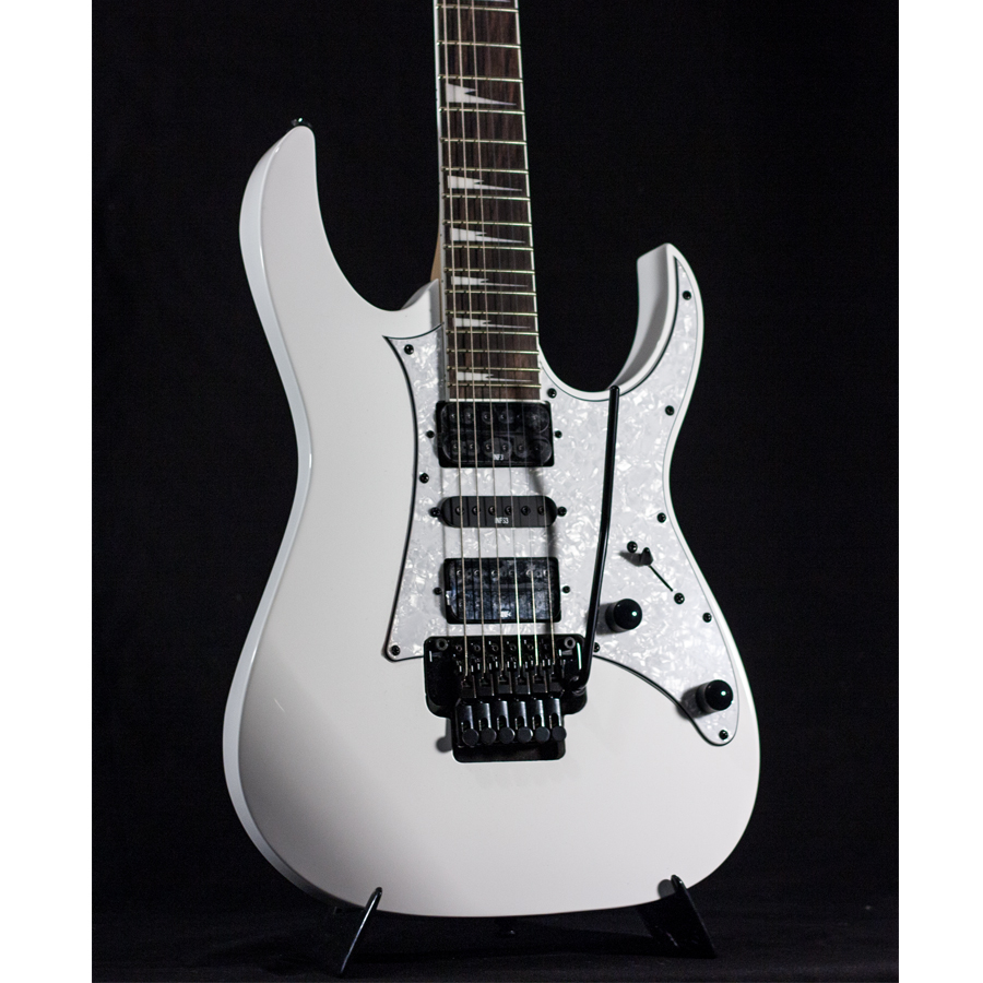 Ibanez RG350DX White AUCTION Body Detail