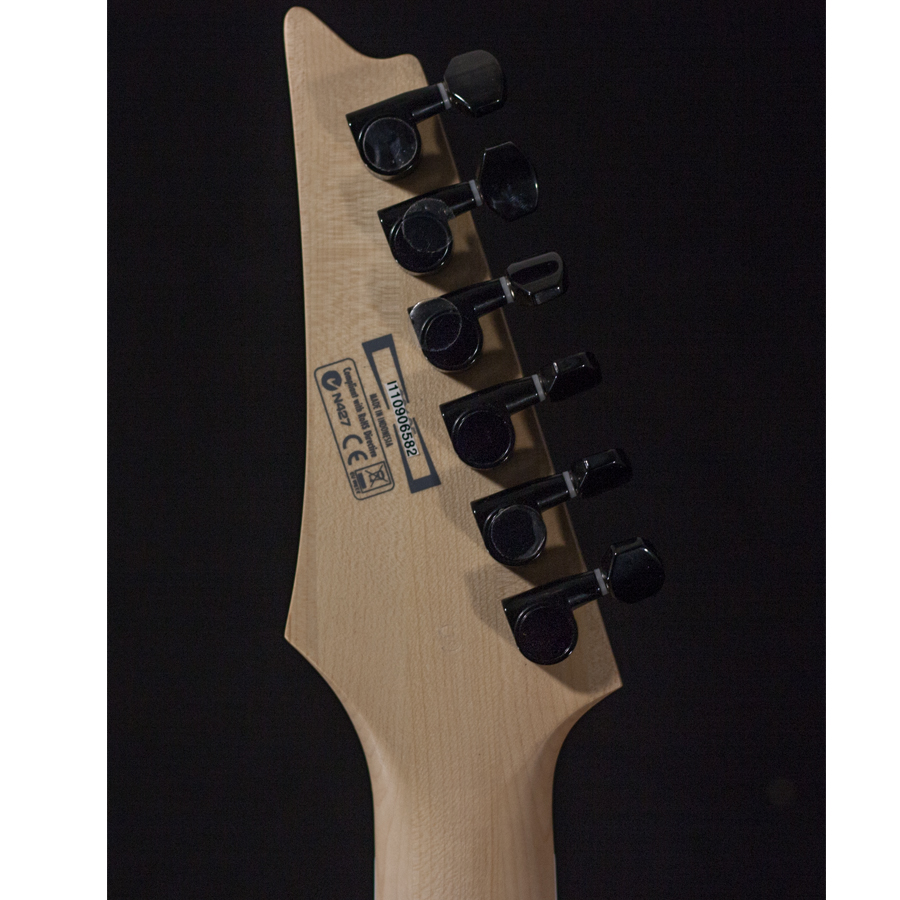 Ibanez RG350DX White AUCTION Rear Headstock