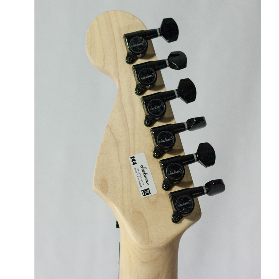 Jackson Adrian Smith Signature SDX AUCTION Rear Headstock
