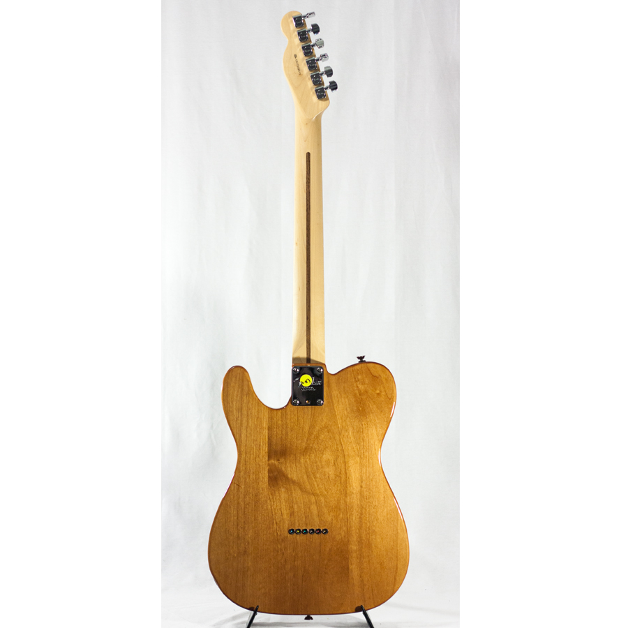Fender American Design Monkeypod Prototype Telecaster Rear View