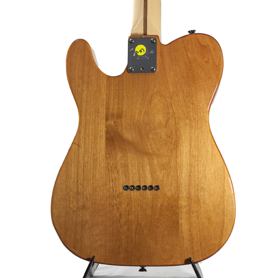 Fender American Design Monkeypod Prototype Telecaster Rear Body Detail