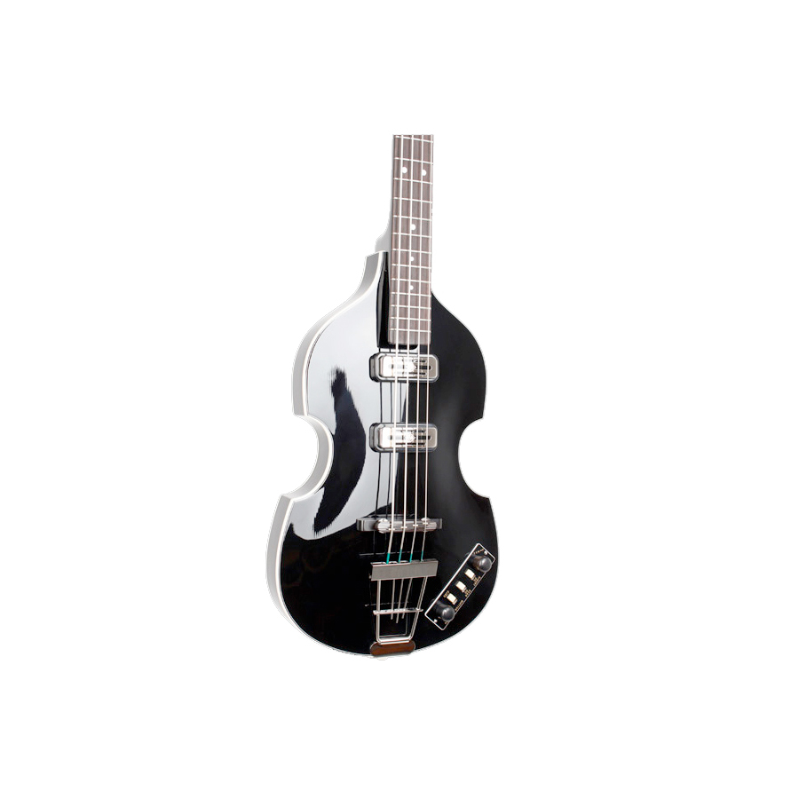 Hofner Limited Edition Violin Beatle Bass 125th Anniversary Black Body Detail