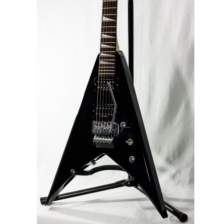 Jackson KVX10 King V Black Blemished Body Detail
