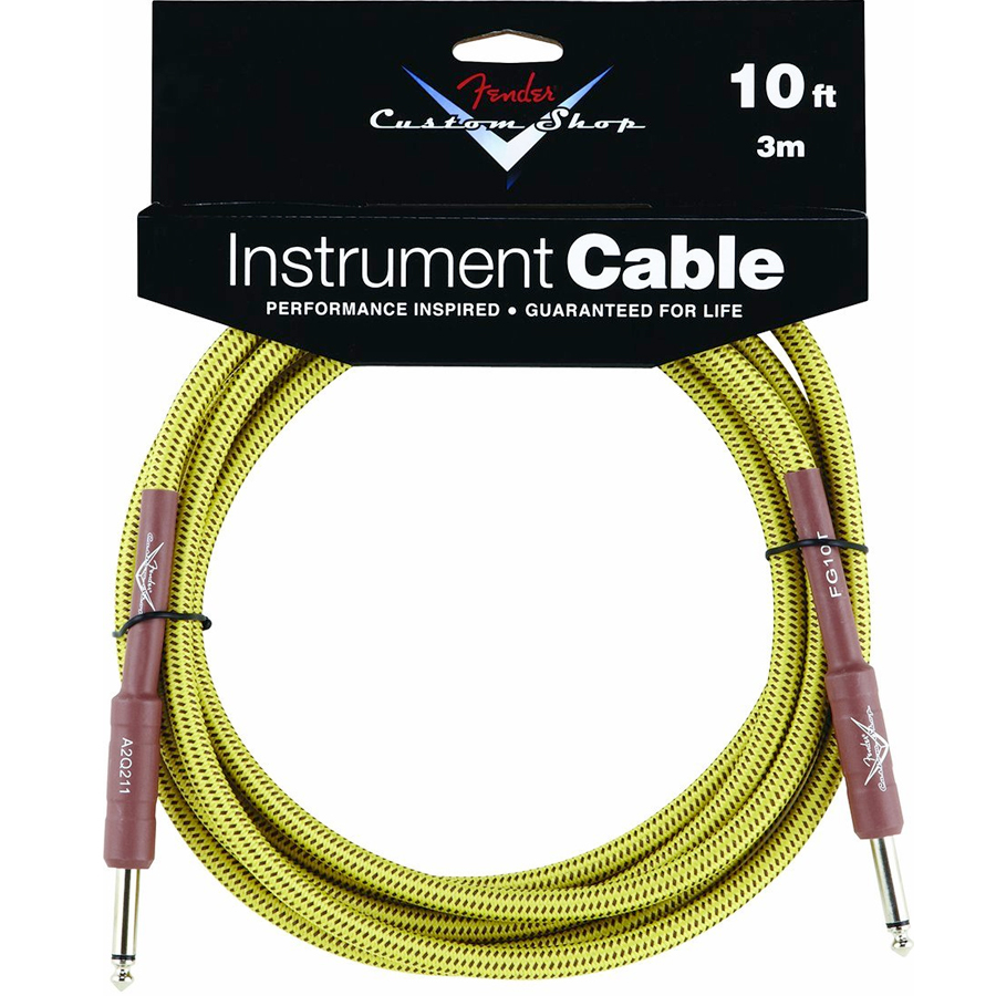 Fender Custom Shop Performance Series Cable 10 Ft. Straight to Straight