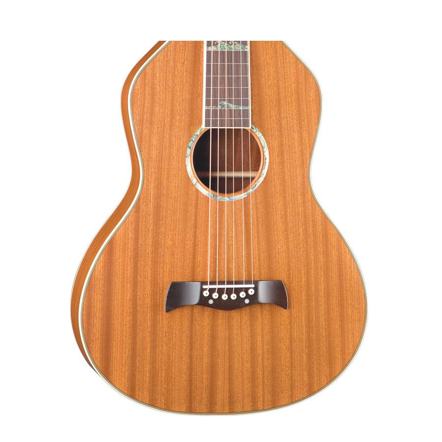 Luna Guitars Weissenborn-Style Hawaiian SolidBody