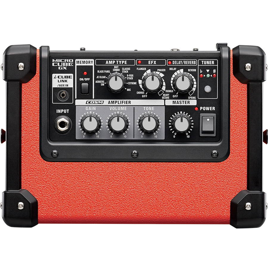 Roland MICRO CUBE GX Black Top View
