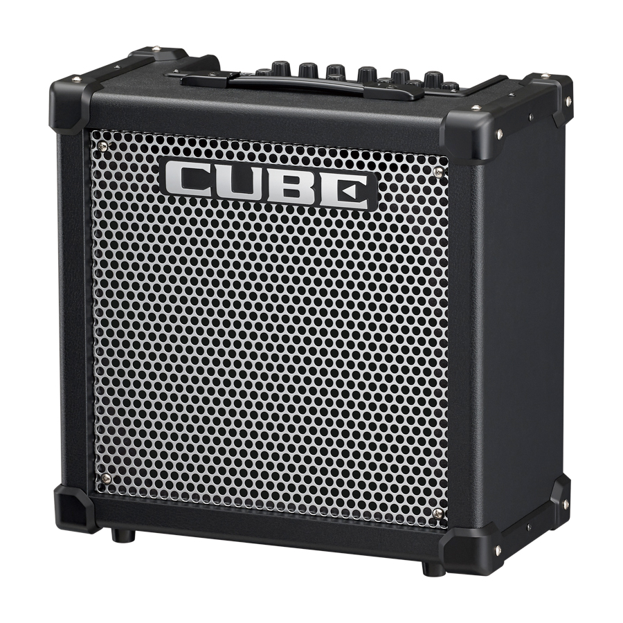 roland cube 40gx 40 watt guitar amp with custom10 inch speaker effects new ebay. Black Bedroom Furniture Sets. Home Design Ideas