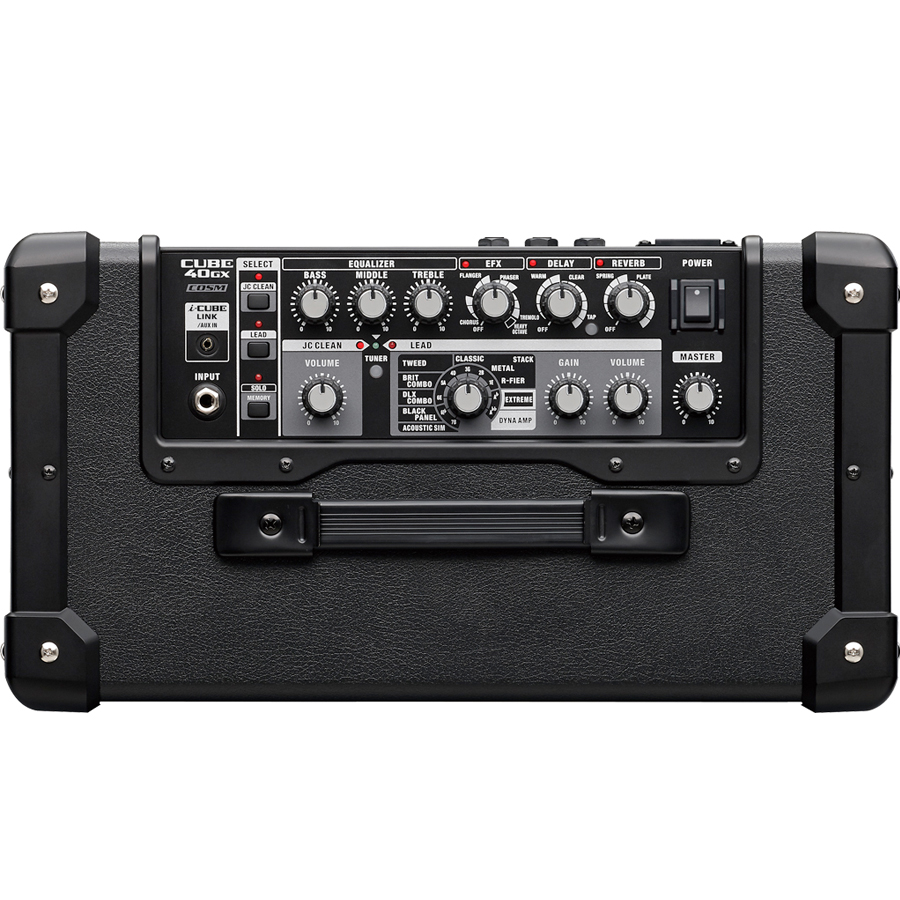 Roland CUBE-40GX Black Top View
