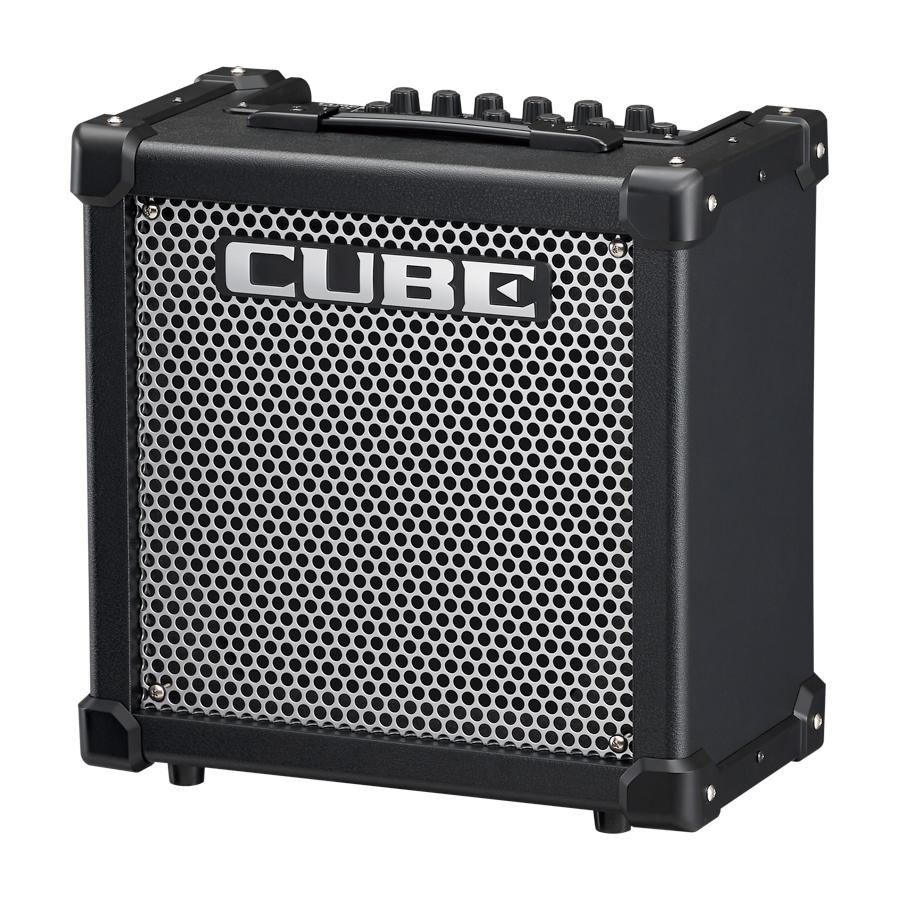 Roland CUBE-20GX BlackAngled View