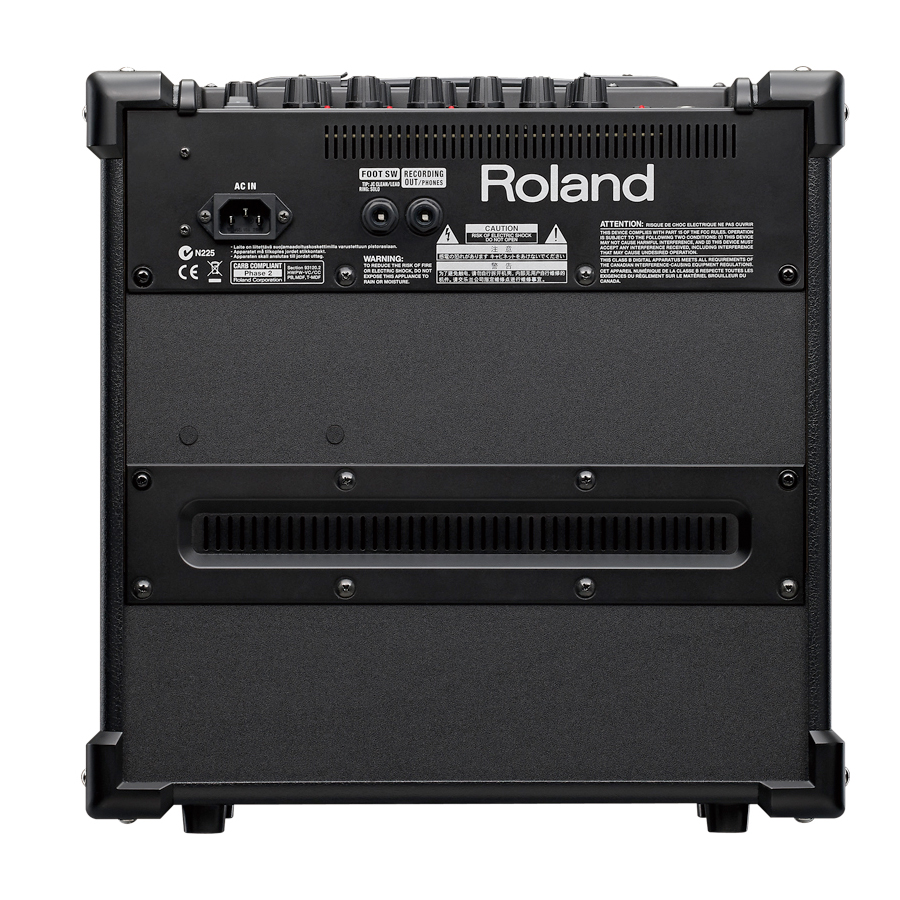 Roland CUBE-20GX Black Rear View